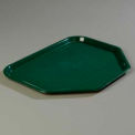 "Cafe® Trapezoid Tray 18"", 14"", 13/16"" - Forest Green"