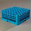 Carlisle RG36-314 - Opticlean™ 36-Compartment Glass Rack W/ 3 Extenders, Carlisle Blue - Pkg Qty 2