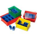 """Schaefer Insert Container For Interstacking Transport Containers 3.8X3.6X2.4"""" Fits Container 36972"""