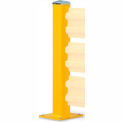 "Wildeck® 44""H Post Column For Triple Rail, WCT44"