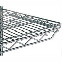 "Metro Qwikslot Extra Shelf For Wire Shelf Trucks - 36""Wx24""D - Fits Truck 4728600, 4736800"