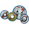 "CGW Abrasives 35618 Depressed Center Wheel 4-1/2"" x 1/8"" x 7/8"" Type 27 24 Grit Silicon Carbide - Pkg Qty 25"