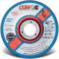 "CGW Abrasives 36219 Depressed Center Wheel 4-1/2"" x 1/8"" x 7/8"" 24 Grit T27 Aluminium Oxide - Pkg Qty 25"