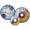 "CGW Abrasives 37525 Depressed Center Wheel 4-1/2"" x 1/4"" x 5/8 - 11 Type 27 24 Grit Silicon Carbide - Pkg Qty 10"