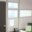 "Compatico CMW 12""H x 36""W PolyStax Clear Glass Segment with Innertone Light Frame"