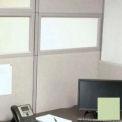 "Compatico CMW 12""H x 48""W PolyStax Frosted Glass Segment with Innertone Light Frame"