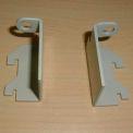 Compatico CMW Varying Panel Height Kit for Angled Panel - Metallic Silver