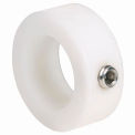 "Nylon Set Screw Collar NC-Series, 1/2"", Acetal"