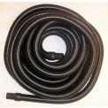 """JanSan Manufacturing Crushproof Vacuum Hose w/Cuffs 25' x 1-1/2"""", Black - 30-12201"""