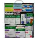 Custom Kits Company 100 Person First Aid Kit, Steel Case, 863 Pieces