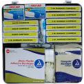 Custom Kits Company National Standard School Bus First Aid Kit, Plastic Case, 144 Pieces