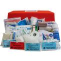 Custom Kits Company Deluxe League First Aid Kit, Flambeau Orange Case, 204 Pieces