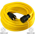 Conntek 20602, 50', 30A, Generator Power/Extension Cord with NEMA L14-30P to L14-30R