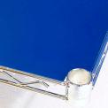PVC Shelf Liners 30 x 72, Blue (2 Pack)