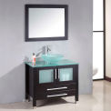 """Cambridge Plumbing Amethyst 35"""" Single Bathroom Vanity Set"""