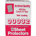 C-Line Products Traditional Polypropylene Sheet Protector, Standard Weight, 11 x 8 1/2, 50/BX - Pkg Qty 3
