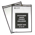 C-Line Products Shop Ticket Holders, Stitched, Both Sides Clear, 11 x 17, 25/BX