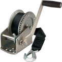 Reese Towpower® Winch W/ 20' Strap & Hook - 1500 Lb. Cap.