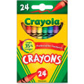 Crayola® Classic Crayons, Nontoxic, Assorted, 24/Box