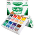Crayola® Washable Markers Classpack, 8 Assorted Colors, 200/Box