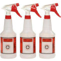 Plastic Sprayer Bottles 24oz - 3 Bottles/Pack - UNS03010