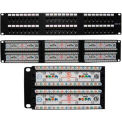Vertical Cable 042-378/48 Cat 6 48-Port 110 IDC Patch Panel