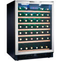 "Danby DWC508BLS - Wine Cooler, 50 Bottle, Built-in or Freestanding, LED Display, 23-3/4""W x 34-1/2""H"