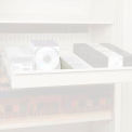 """Rotary File Cabinet Components, 3"""" Media Divider (Each), Bone White"""