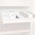 """Rotary File Cabinet Components, 3"""" Media Divider (Each), Light Gray"""
