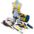 DBI-SALA® 7611904 Sayfline Horizontal Lifeline Roof System, 50'L, Reusable, 310 Cap Lbs