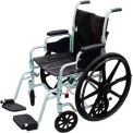 "16"" Poly Fly Light Weight Transport Chair Wheelchair"
