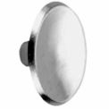 "Don Jo 120-626 Cabinet Knob, 1-1/2""Dia, 1/2""Projection, Brushed Chrome - Pkg Qty 10"