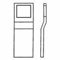 Don Jo FBG-1-SQ Filler Plate, 3-1/4