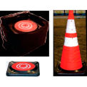 "Dicke Safety, 28"" Collapsible Cone, 5 Pk, w/Storage Bag, CC5B"