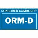 """ORM-D 2-1/4"""" x 1-3/8"""" - Blue / White"""