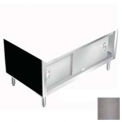 "Thurmaduke 328-4PG-217102 Sliding Doors, 12""H, Double-Wall, For 4 Well Hot Food Units, Silver Hammer"