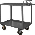 Durham Mfg.® Stock Cart RSCE-2436-2-TLD-95 with Ergo Handle - Top Lips Down 1200 Lb. Cap.