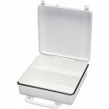 First Aid Box Polypropylene w/ Gasket and Partition - 9-1/16x2-3/8x9-1/16