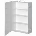 First Aid Cabinet 4-Shelf - 15x5-9/16x22