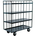 Durham Mfg® Three Sided Shelf Truck OPT-4830-95 48x30