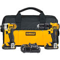 DeWALT 20V MAX* Lithium Ion Combo Kit (1.5 Ah), DCK280C2, 2-Tool Kit