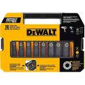 "DeWALT® Impact Ready Socket Set, DW22812, 1/2"" Drive, 10 Pieces"