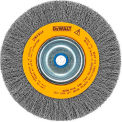 "DeWALT® HighPerformance™ Bench Grinder Brush, DW4906, 8"" Diameter, 5/8"" Arbor, 4000 RPM"