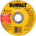 "DeWalt DW8426 Metal & Stainless Cutting Wheel Type 27 6"" Diameter 60 Grit Aluminum Oxide - Pkg Qty 25"