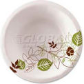Dixie® DXESXB12WSPK, Pathways Paper Bowls, 12 oz., Green/Burg/Wht, 500/Carton