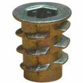 1/4-20 Insert For Soft Wood - Flanged - 901420-20 - Pkg Qty 50
