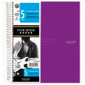 """Mead® Five Star 5-Subject Trend Notebook, 8-1/2"""" x 11"""", College Ruled, 200 Sheets/Pad"""