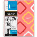 "Mead® Five Star 1-Subject Notebook, 8-1/2"" x 11"", College Ruled, White, 100 Sheets/Pad"