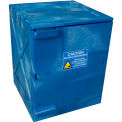 Eagle Poly Acid & Corrosive Cabinet with Manual Close - 4 Gallon