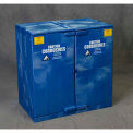 Eagle Poly Acid & Corrosive Cabinet with Manual Close - 22 Gallon